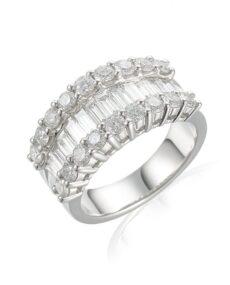 Statement Diamond Dress rings