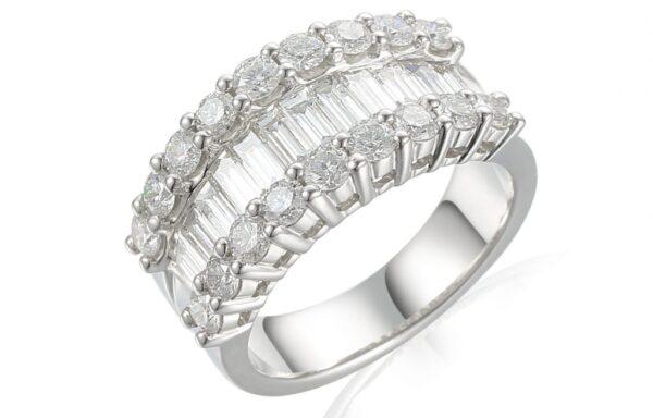 'Statement' Diamond Dress rings