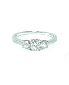 Diamond Trilogy rings